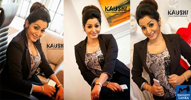Kaushalya Madhavi Hot In A Black Dress