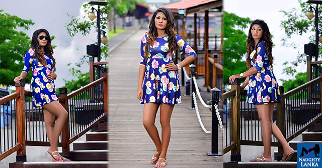 Kavi Jayawardane In Short Dress
