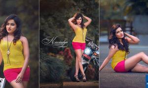 Kavindya Mathota Arachchi Flaunts Her Toned Legs