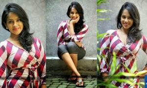 Kishani Alanki Perera Close-Up Photo Shoot