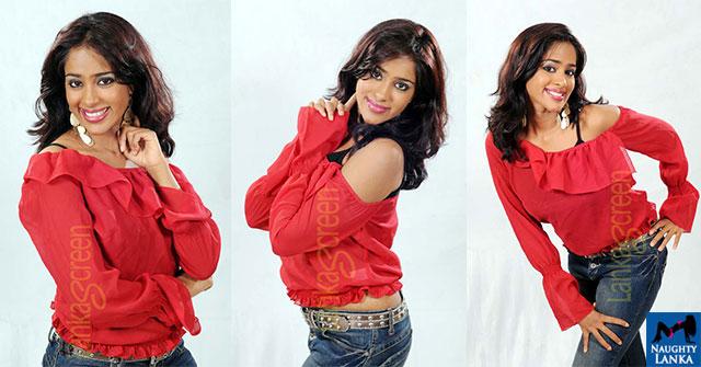 Kishani Alanki Perera Red Shirt
