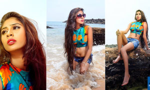 Anju Mendis Beach Side Photoshoot