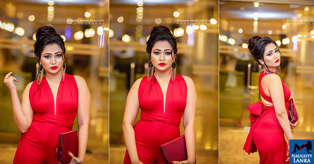 Rashini Kumarasiri Beauty In Red
