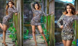 Yunika Dilki Mendis Flaunts Her Toned Legs