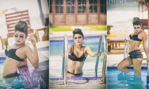 Adisha Shehani Hot Poolside Bikini Photos