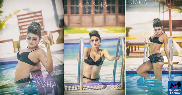 Adisha Shehani Hot Poolside Bikini Photos
