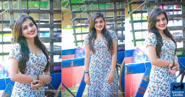 Shanudrie Priyasad At Kalagame Aurudu 2018
