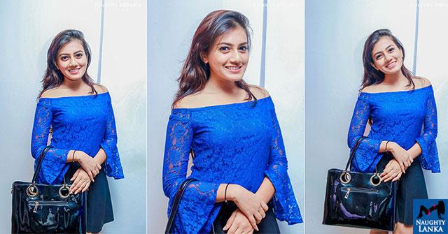 Shanudrie Priyasad Blue See Through Top