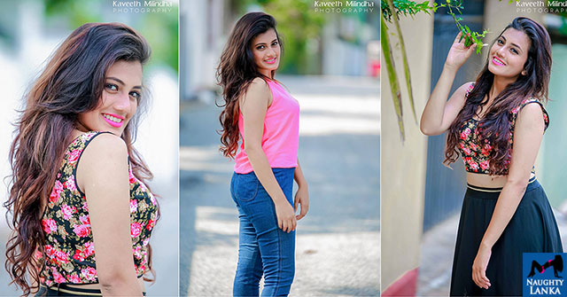 Shanudrie Priyasad Outdoor Bold Photoshoot