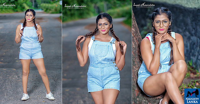 Thushi Lakmali Flashes Her Endless Hot Legs