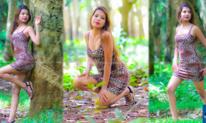 Nilusha Rathnayeka Outdoor Hot Photoshoot
