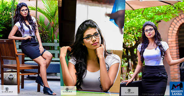 Tanasha Hatharasingha Outdoor Photoshoot