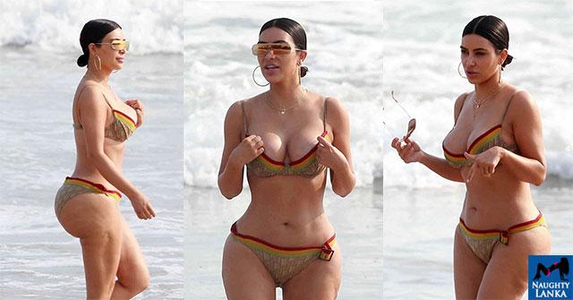 Kim Kardashian Bum