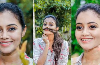 Dinakshie Priyasad Close Up Photoshoot
