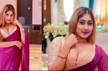 Kaushi Perera Saree Photos