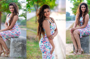 Maleesha Fernando Hot Outdoor Photos