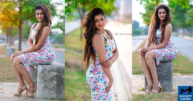 Maleesha Fernando Hot Curves In Tight Outfit