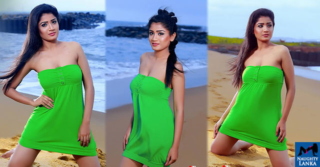 Minelle Perera Hot Beach Side Pics