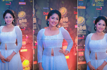 Nayanathara Wickramarachchi At Sumathi Tele Awards 2018