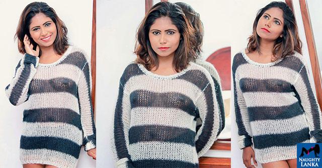 Nehara Samanali Hot See Through Dress