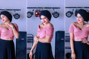 Piumi Hansamali Pink Top Photos
