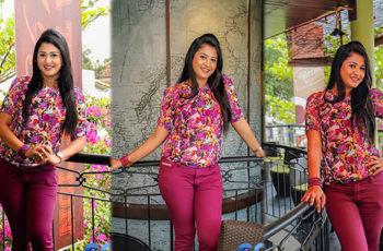 Ruwangi Rathnayake Hot Tight Jeans Photos