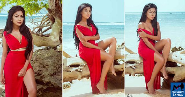 Shaakya Karunasena Shows Off Her Toned Legs