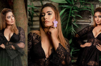 Teena Shanell Sizzles In Black Dress