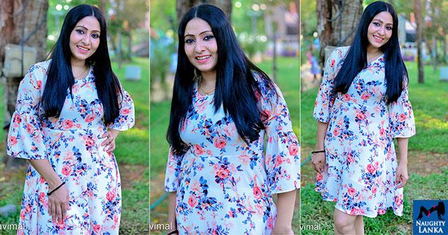 Udayanthi Kulathunga Poses For A Portrait