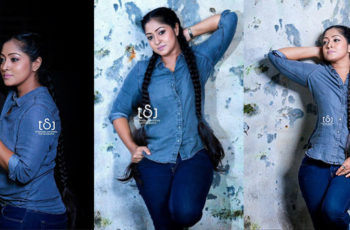 Dilini Lakmali Hot Denim Outfit