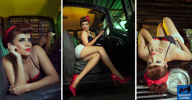 Menaka Maduwanthi Flaunts Her Toned Legs