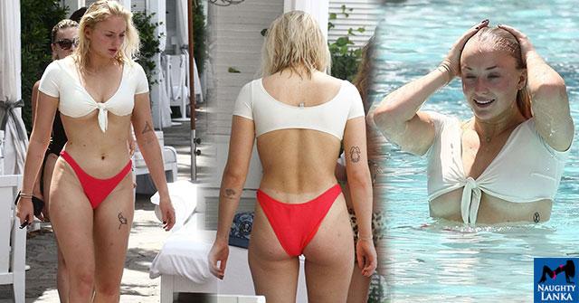 Sophie Turner Bikini Photos